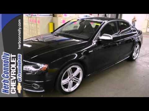 Audi S4 Framingham Wellesley Natick, MA #C9265P - SOLD
