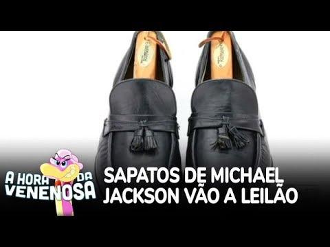 Sapatos de Michael Jackson serão leiloados com lance inicial de R$ 40 mil