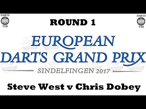HappyBet European Darts Grand Prix - Round 1 [10of16]: Steve West v Chris Dobey