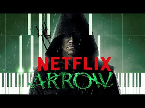 Arrow Preview Theme on Netflix - Fighting...