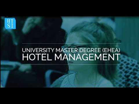 University Master Degree in Hotel Management