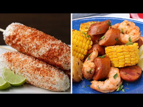 5 Сочные кукурузы Рецепты Разбить Летнего • Вкусная