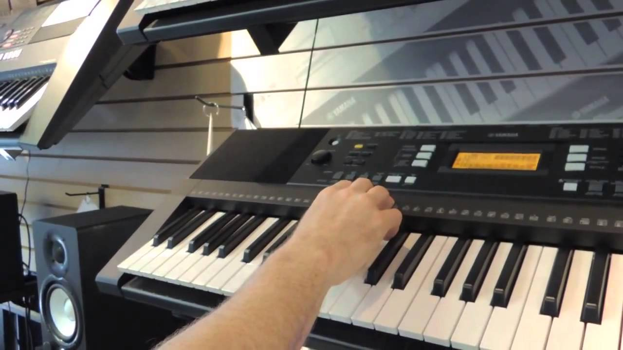 Yamaha keyboard differences how to use functions for Yamaha psr s770 review