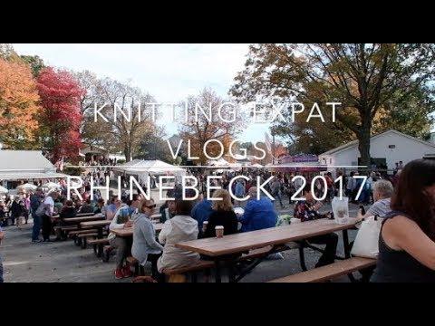 Knitting Expat Vlogs - Rhinebeck 2017
