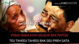 """#qasidah#aceh                    lagu qasidah aceh paling sedih terbaru """"poma dg ayah""""sunguh terharu"""