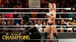 R-Truth narrowly escapes Alexa Bliss' bid for 24/7 Title: Clash of Champions 2019 (WWE Network )
