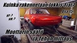 Moottorin säätö ja Tehon mittaus - Osa 15. - Kuinka rakennetaan Jokkis-Fiat?