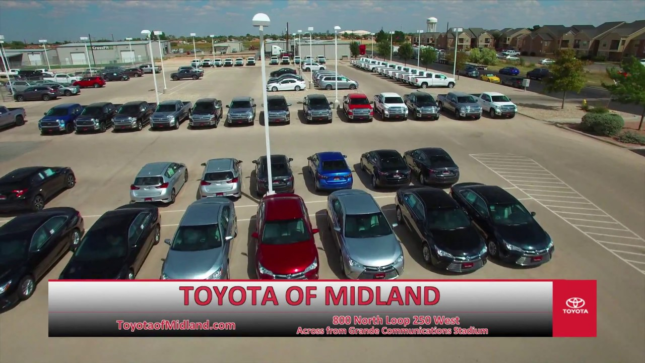 Toyota Of Midland >> Toyota Dealership New Used Cars Toyota Of Midland