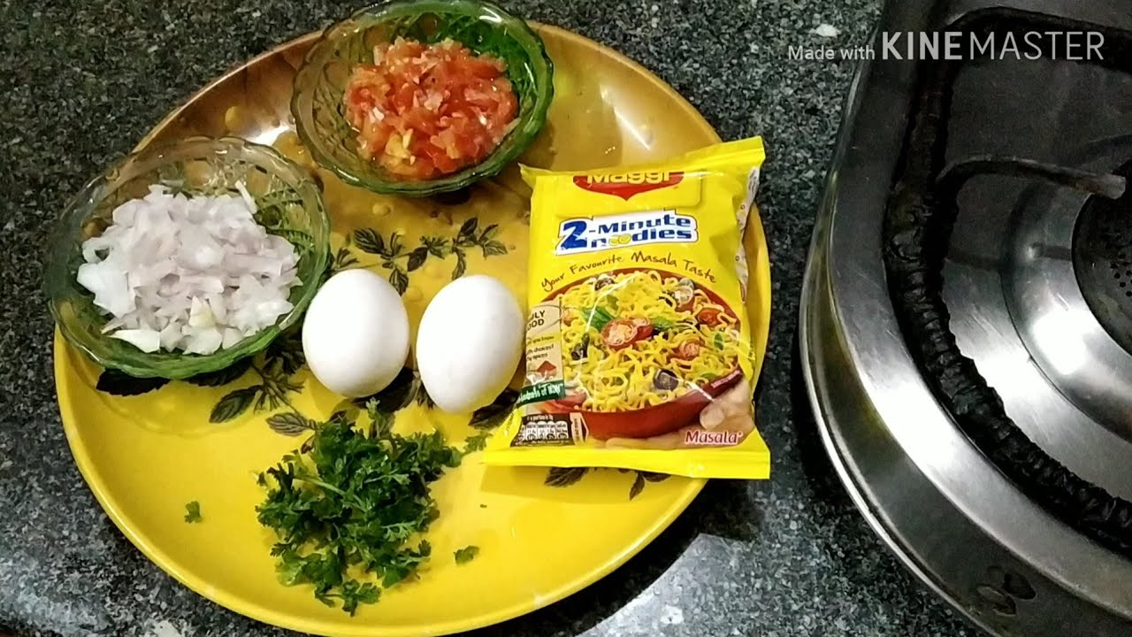 how to make egg noodles with maggi