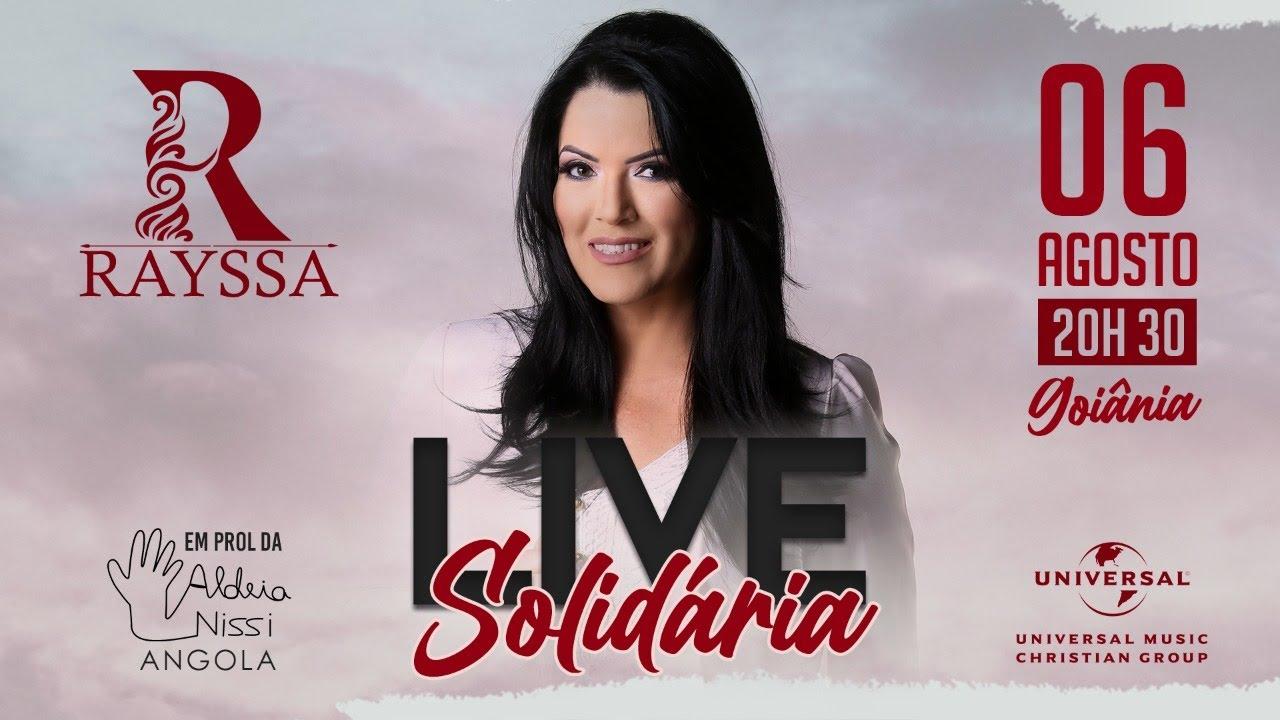 Rayssa Peres - Live Solidária Aldeia Nissi