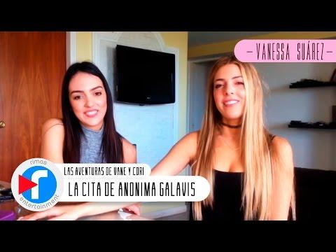 """Las Aventuras De Vane Y Cori en la CITA de Anónima Galavis"""" - Vanessa Suárez y Corina Smith"""