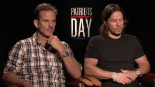 PATRIOTS DAY Peter Berg And Mark Wahlberg Interview