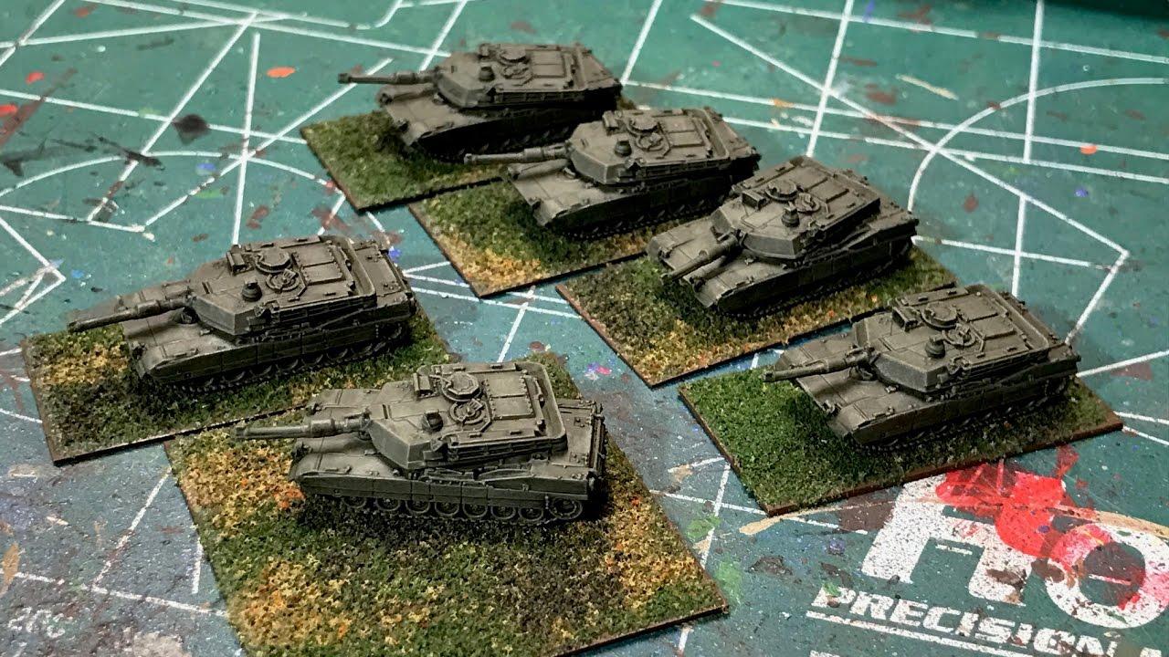 6mm Cold War Tank Painting Basics