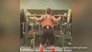Lydia Valentín @75 - Olympic Weightlifting Training