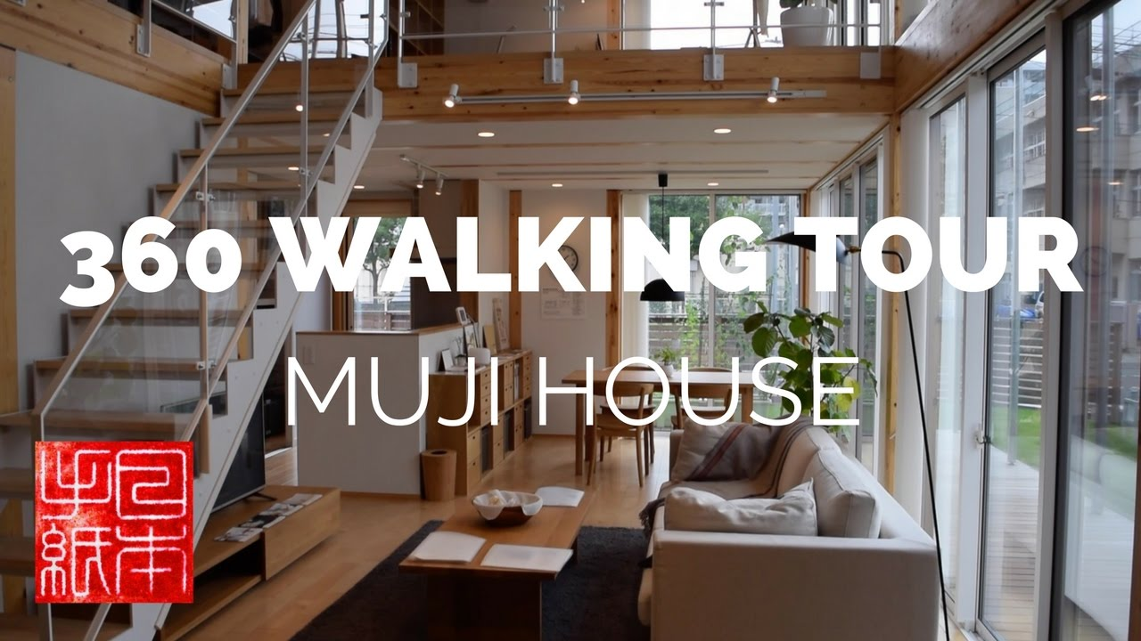 360 Walking Tours of Japan - MUJI House tour - Letters from Japan