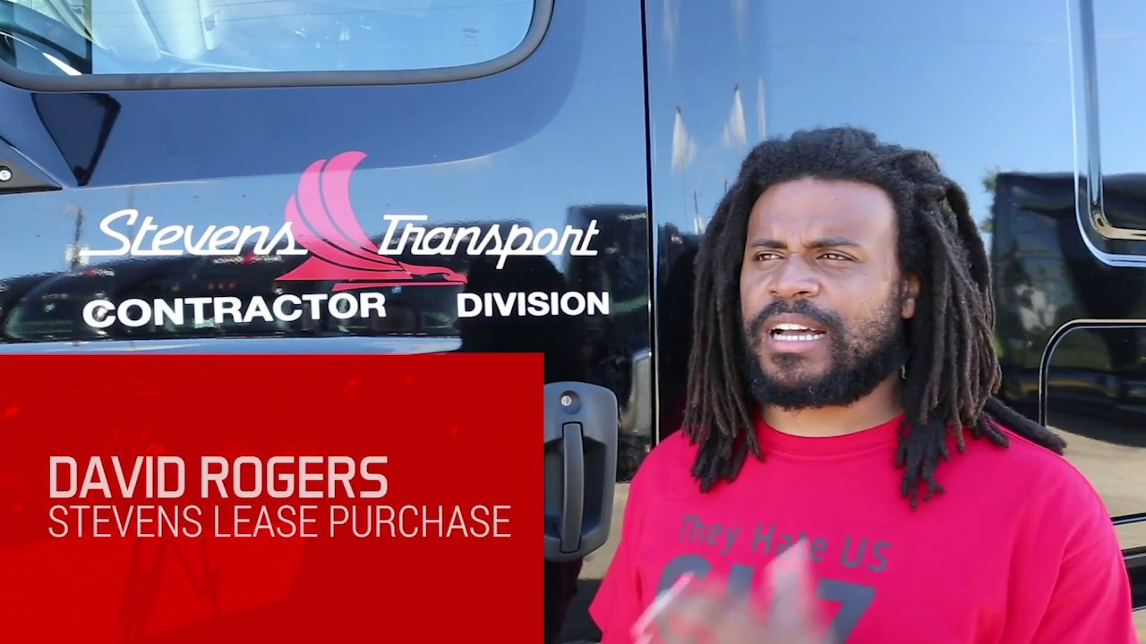 David Rodgers Experiences Success with Stevens Transport Lease Purchase  Program