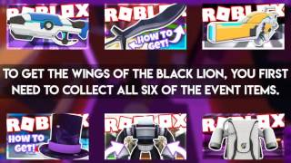 EVENT How to get the WINGS OF THE BLACK LION in Roblox