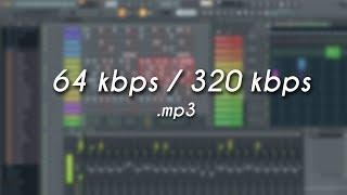 Does the audio quality matter? (64kbps - 320 kbps)