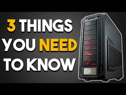 3 Things You NEED to Know About Before Getting into PC Gaming