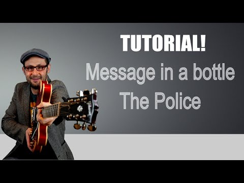 Tutorial chitarra: Message in a bottle  - The Police - lezione