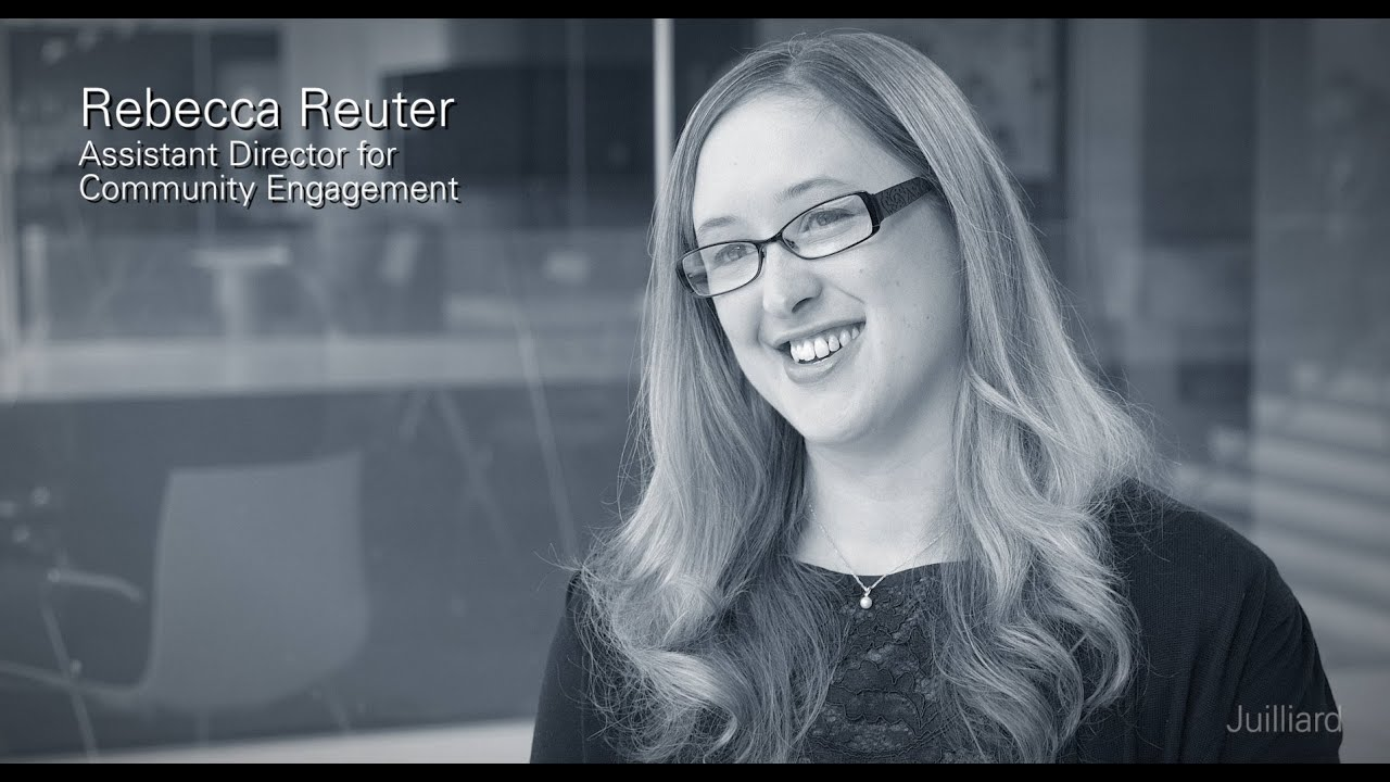 Rebecca Reuter on the Music Advancement Program | Juilliard Snapshot