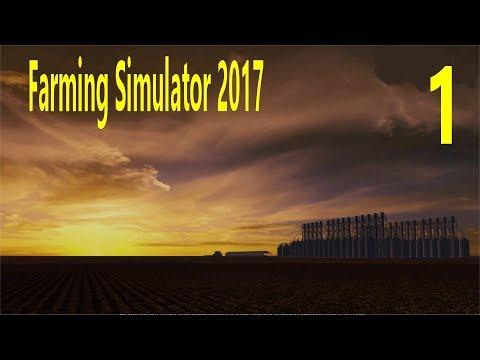 Let's Play Farming Simulator 17 On A 16X Australian Farm Ep 1