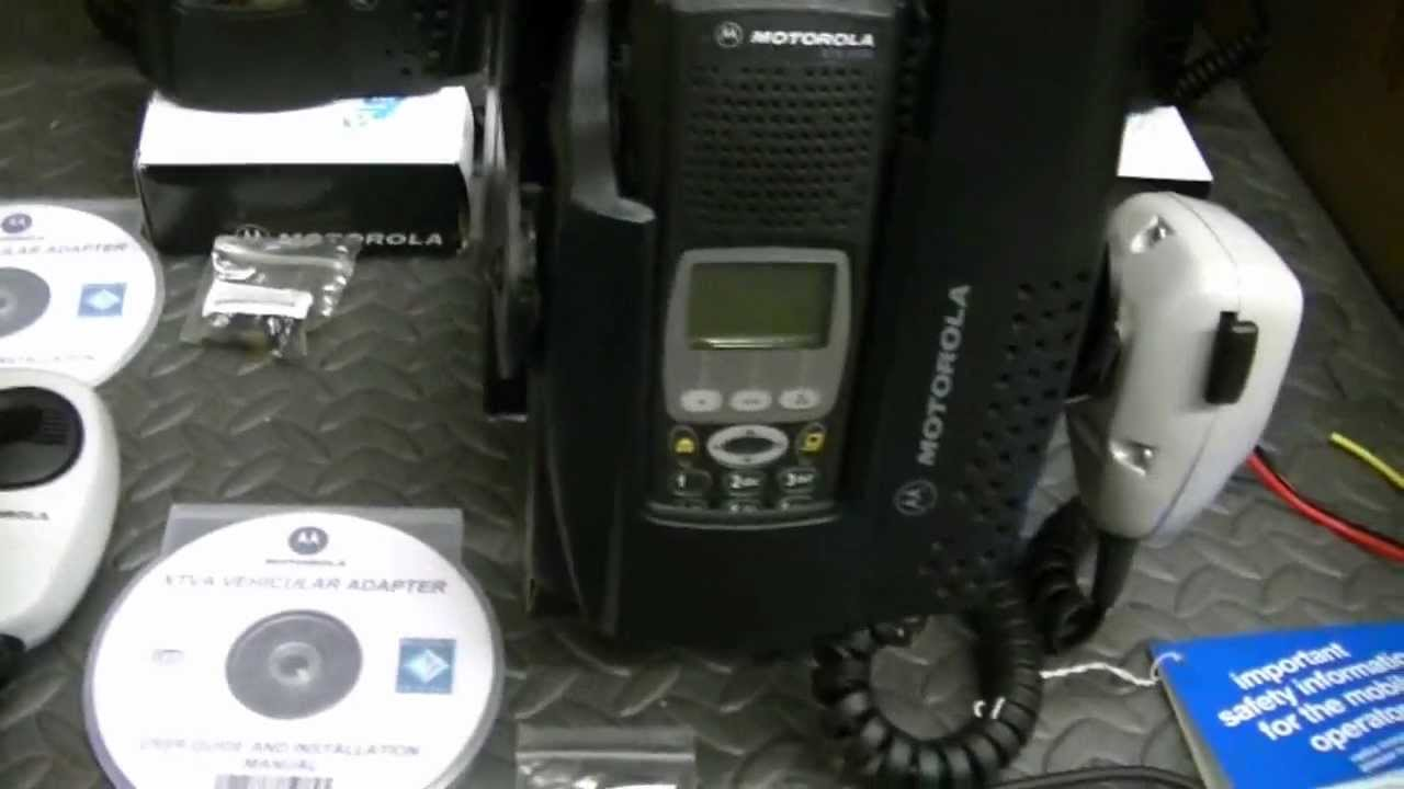 Motorola XTVA Vehicular Units - Three Pack - For Motorola XTS3000's and  XTS5000's by snarlingrabiddog5150