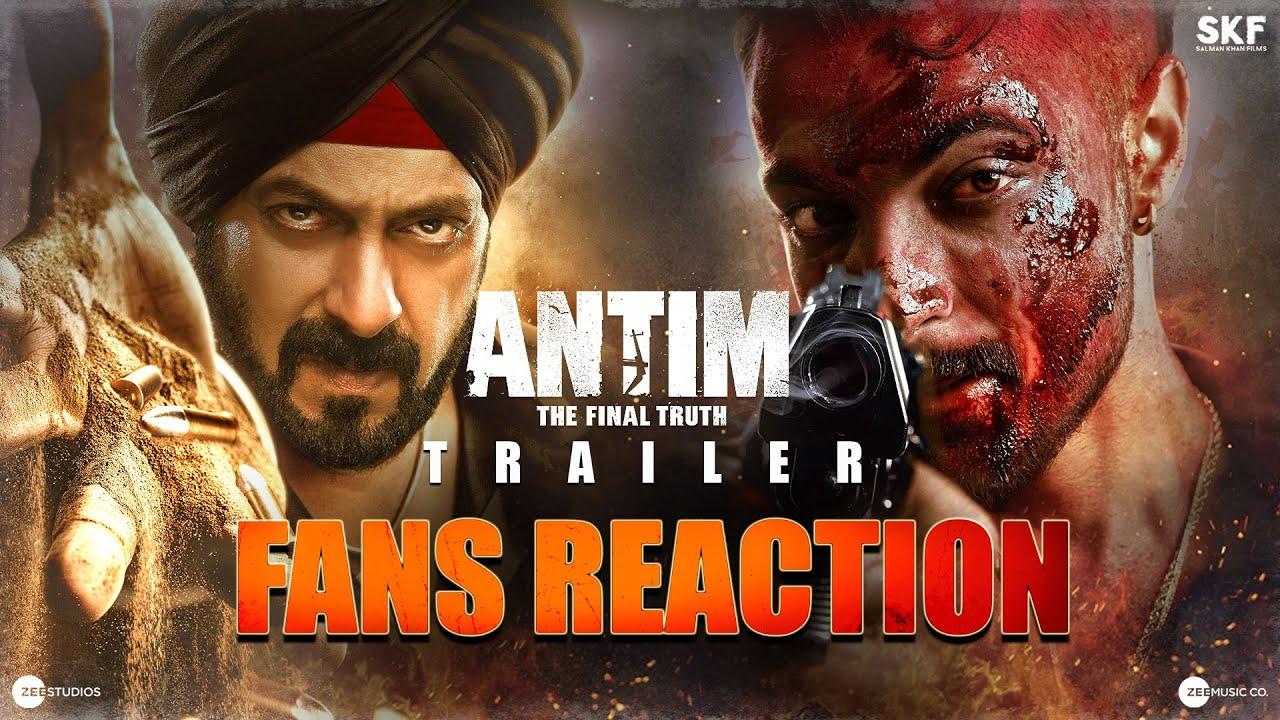 Download ANTIM Trailer - Fans Reaction | Salman Khan, Aayush Sharma | Mahesh V Manjrekar | Nov 26