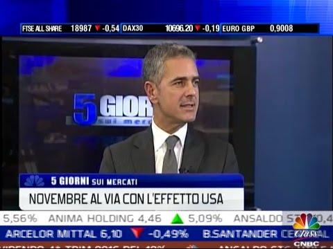 """Roberto Russo su Class CNBC - """"Novembre al via con l'effetto USA"""" 28 ottobre 2016"""