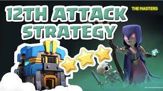 [꽃하마 vs THE MASTERS] Clash of Clans War Attack Strategy TH12_클래시오브클랜 12홀 완파 조합(지상)_[#59-ground]