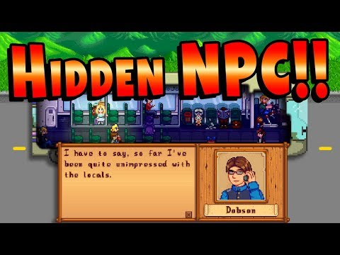 The NPC We Didn't Know About! Alternate Intro Explained - Stardew Valley