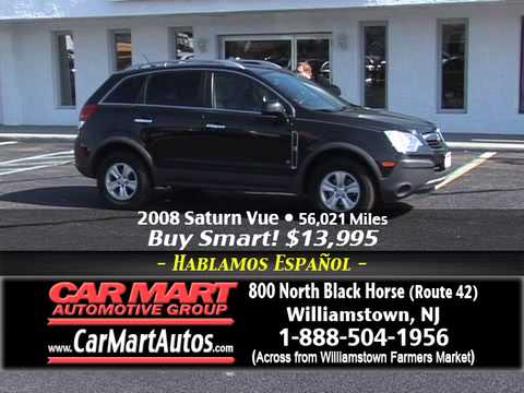 """""""We Want Your Trade Get $2000 Minimum Now"""" Car Mart, Williamstown NJ"""
