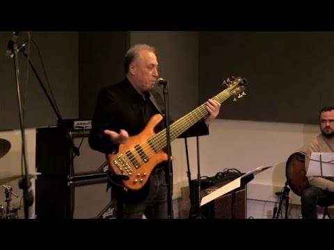 Oscar Stagnaro Latin Bass Clinic at the Aguilar Artist loft