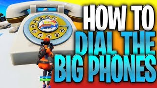How To Dial The Big Phones In Fortnite (Durr Burger And Pizza Pit Big Phone Locations)