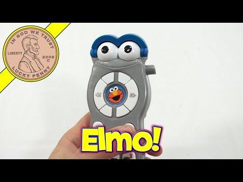 Sesame Street Talking Elmo Remote Control, 2006 Mattel Toys