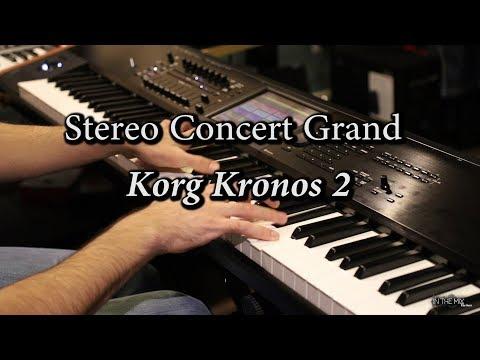 Korg Kronos - Stereo Concert Piano (Factory Program)
