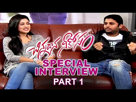 Chinnadana Neekosam Movie || Special Interview Part1 || Nithin, Mishti Chakraborty