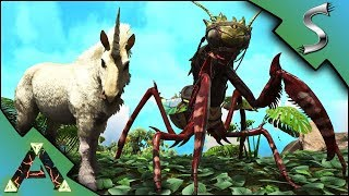 UNICORN AND MANTIS TAMING! - Ark: RAGNAROK [DLC Gameplay E45]