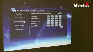 Instructional video for the 3D Projector Android