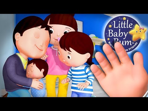 Finger Family | Baby Version | Nursery Rhymes for Kids | Original Version By Littlebabybum!