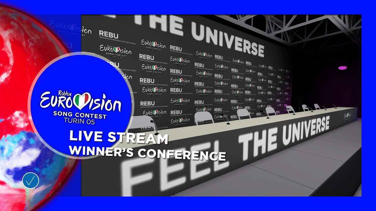 ROBLOX Eurovision Song Contest 05 -  Winner's Conference - Live Stream
