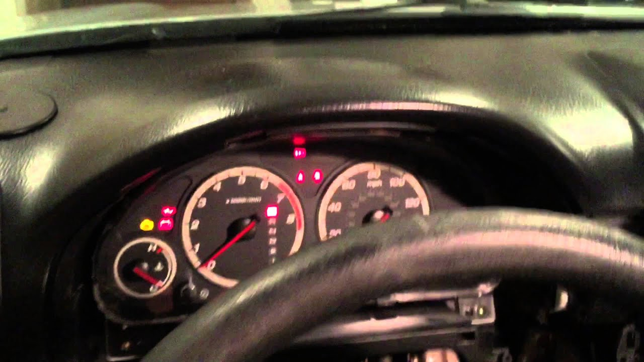 2001 Honda Crv Fuse Box Diagram 3 Phase Motor Wiring 6 Wire Cr-v Instrument Cluster Lights Replacement (hd) - Youtube