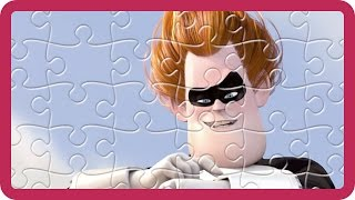 Disney Pixar The Incredibles Jigsaw Puzzles | Incredi-Boy Syndrome Superheroes Games for Children