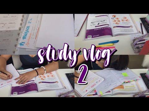STUDY VLOG 2 - Nathália Jackeline