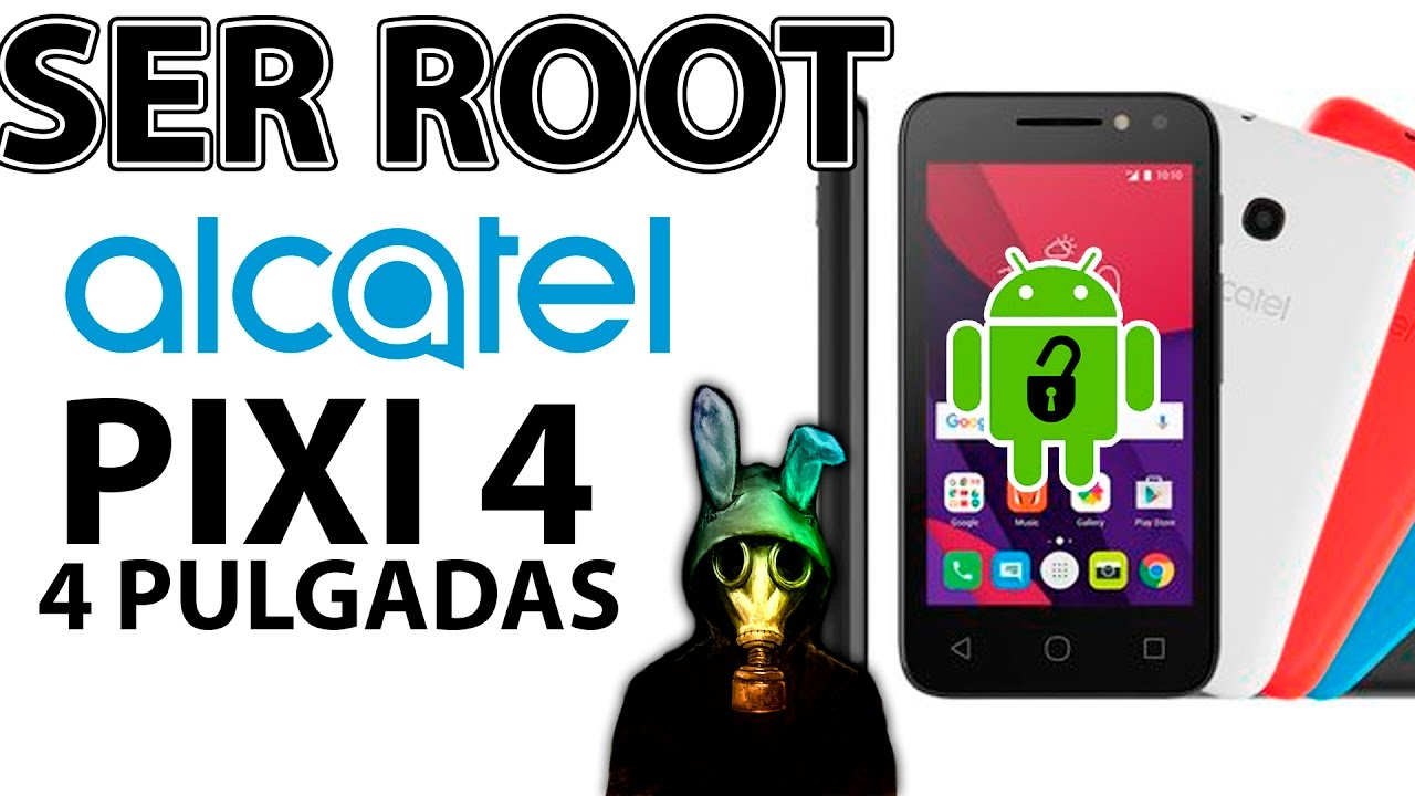 Tct alcatel onetouch pixi 4 pixi4 4034d android root - updated