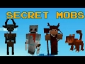 How to spawn Secret Mobs in MCPE |NO MODS
