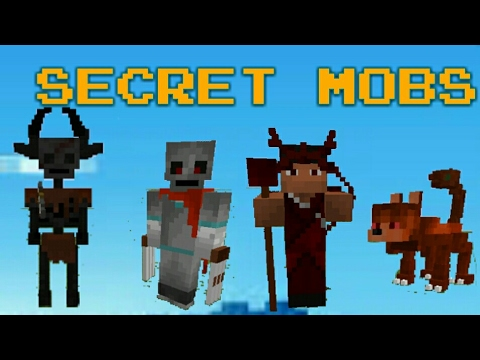 How To Spawn Hidden Giant Mobs In Minecraft Pocket Edition