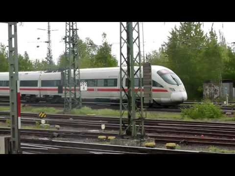 HIGH SPEED TRAINS 2013, 2012 in Belgium, Germany and Holland.