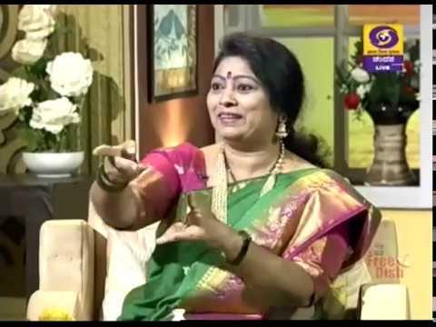 Kannada Actress Malathi Sirdeshpande in Shubhodaya Karnataka | 23-04-19 | DD Chandana