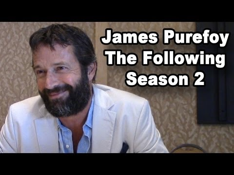 The Following - James Purefoy Season 2 Interview